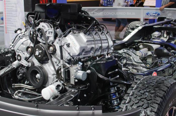 2021 Ford F 150 Engine