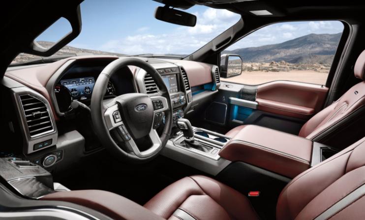 2021 Ford F150 Interior