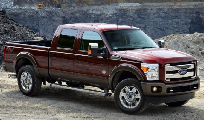 2021 Ford 350 Exterior