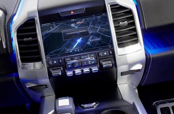 2021 Ford Atlas Interior