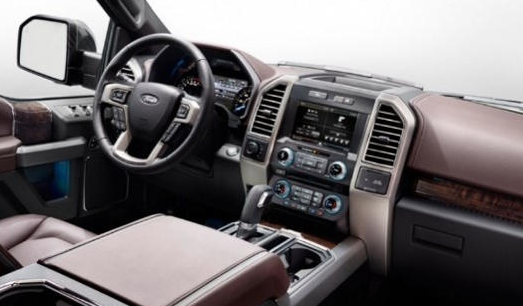 2021 Ford Excursion Interior