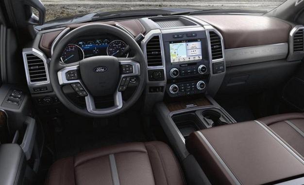 2021 Ford F 350 Interior