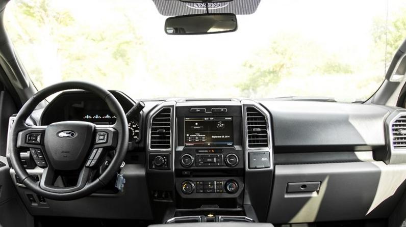 2021 Ford Lightning Interior