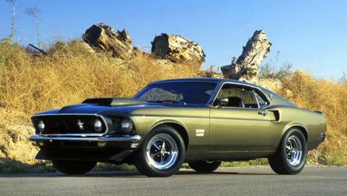 2021 Ford Mustang Boss 429 Exterior