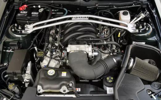 2021 Ford Mustang Bullitt Engine