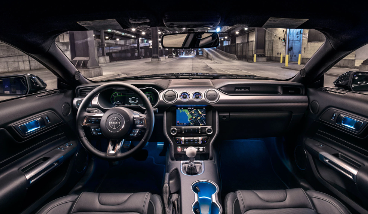 2021 Ford Mustang GT500 Interior