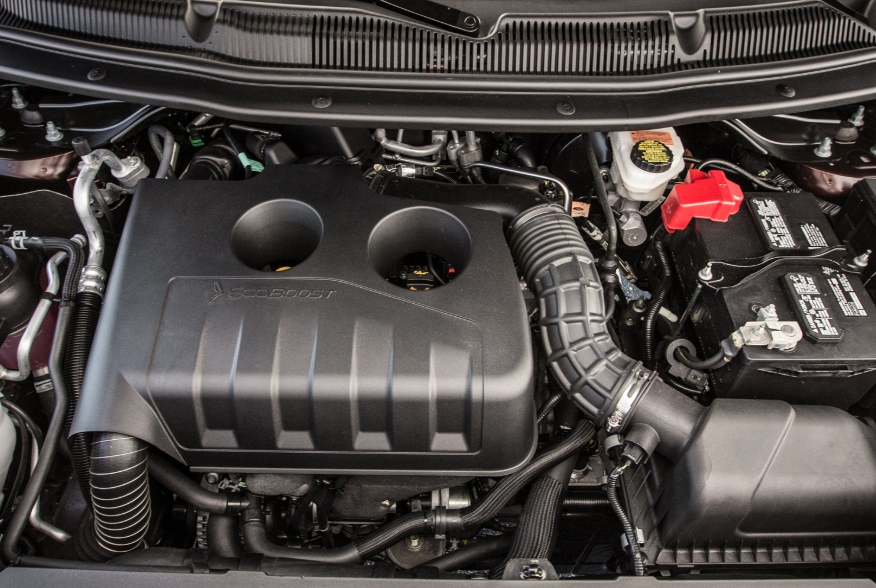 2020 Ford Explorer ST Engine