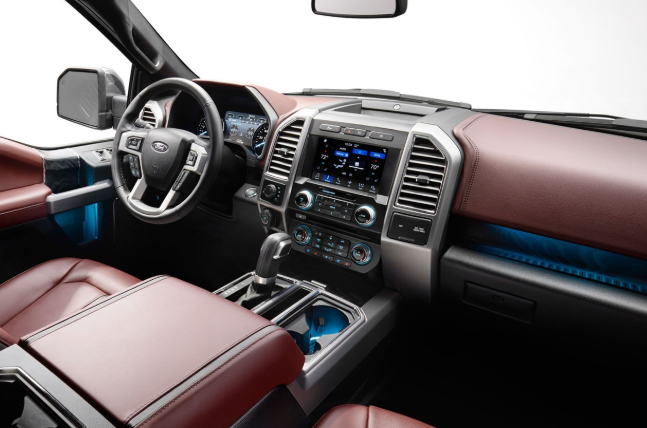 2020 Ford F 150 Hybrid Interior