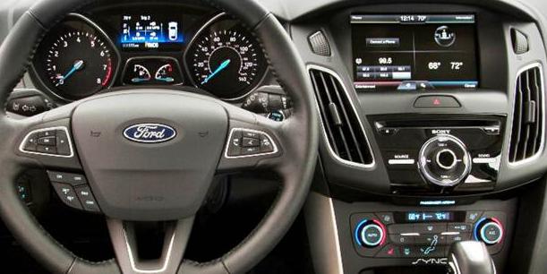 2020 Ford Falcon Interior