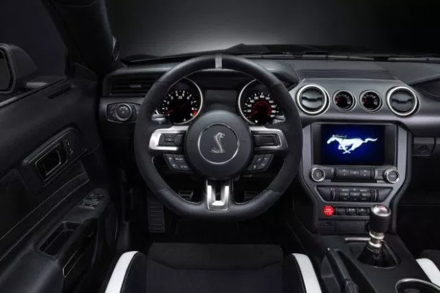 2020 Ford Mustang Cobra Interior