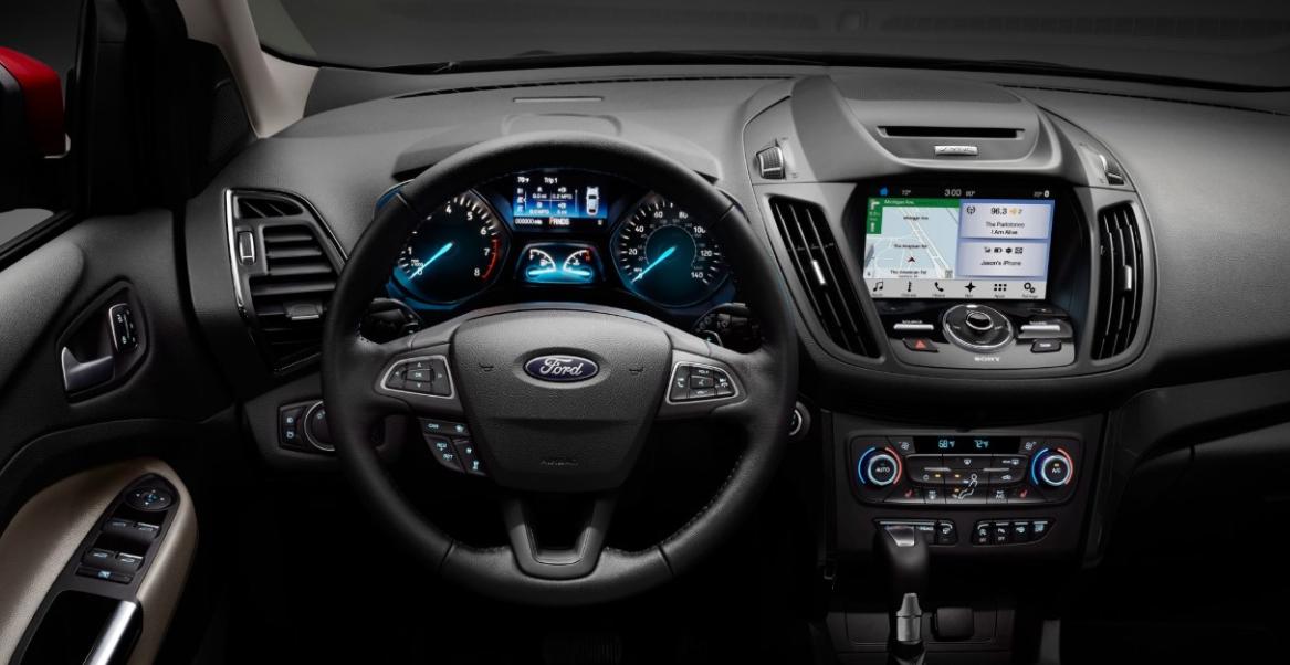 2022 Ford Escape Interior