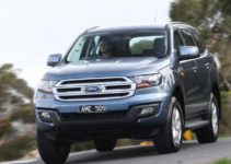 2022 Ford Everest Exterior