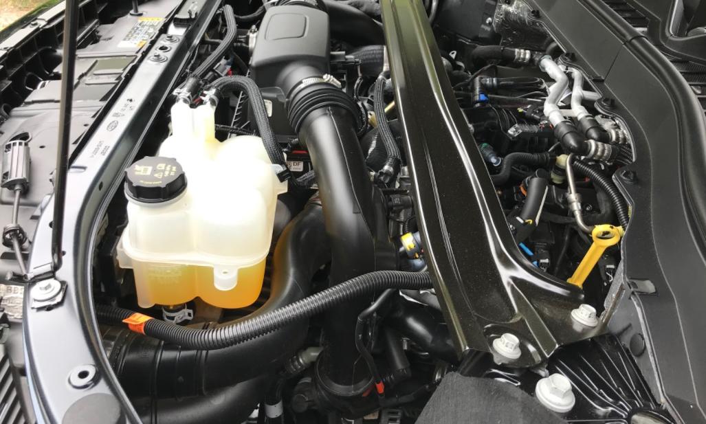 2022 Ford Explorer Engine
