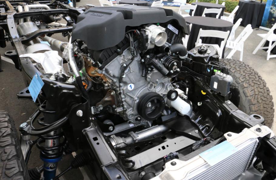 2022 Ford F-350 Engine