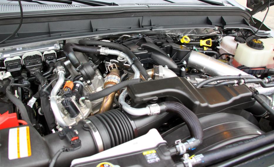 2022 Ford F-450 Engine