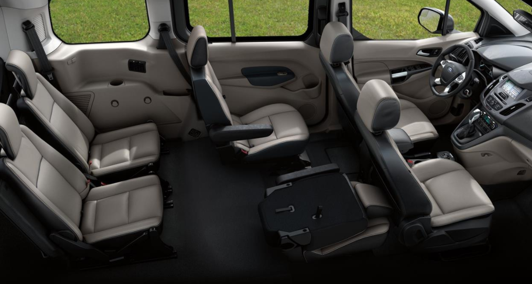2023 Ford Transit Connect Interior